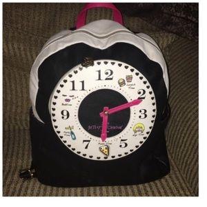 Betsey Johnson Clock Backpack Bag